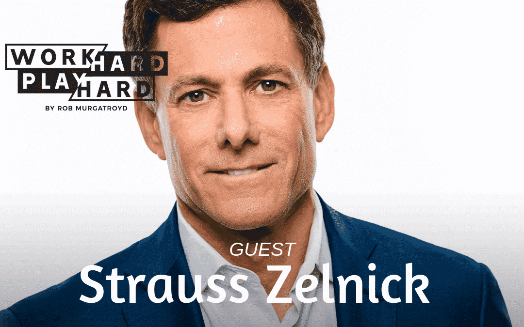 135: Strauss Zelnick | Building Massively Successful Companies + Becoming Younger Each Year